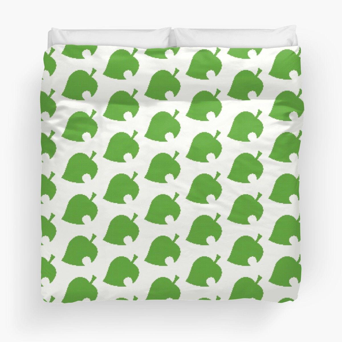 Animal Crossing Cross Stitch Leaf Animal Crossing Logo