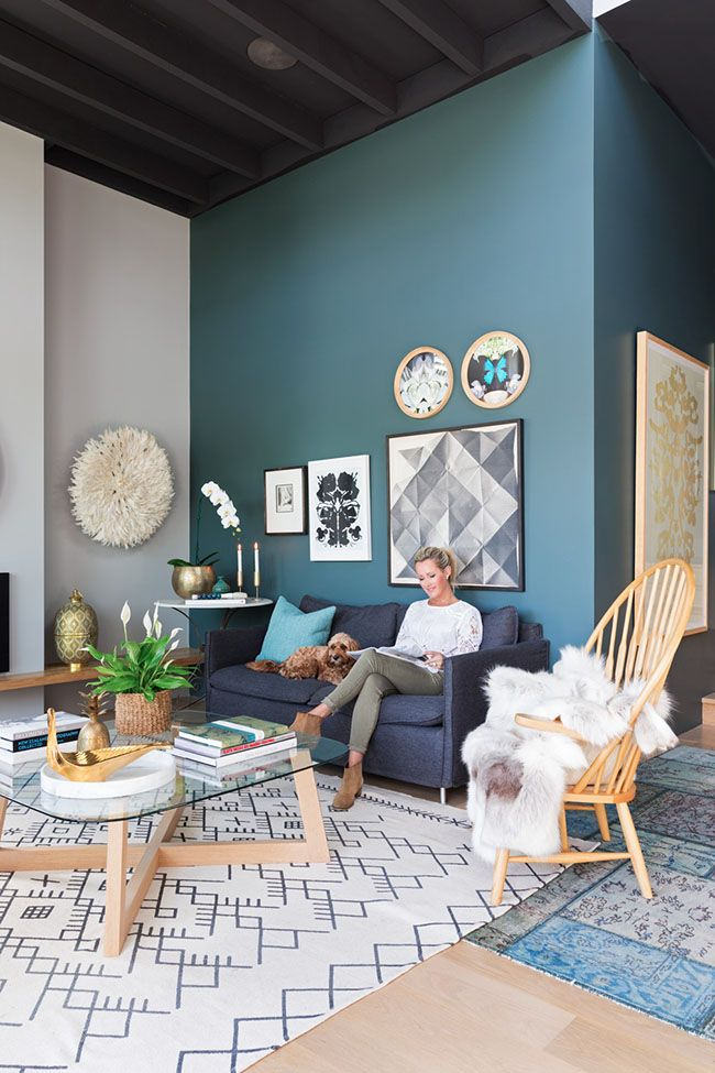 Elige el color azul para decorar tu casa y triunfars seguro