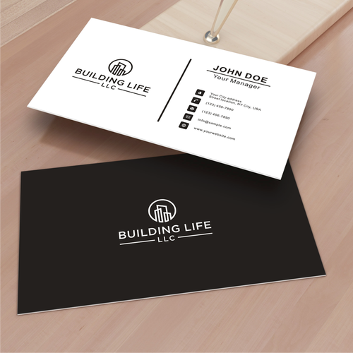 Husband And Wife Real Estate Investor Landlord Team Looking For Logo And New Business Cards Logo Real Estate Investor Being A Landlord Business Card Logo