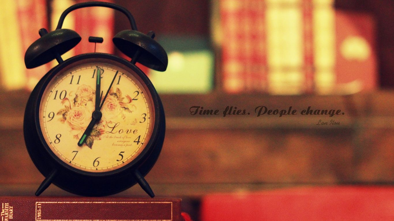 Download Time Flies People Change Wallpaper In 1366x768 Resolution Vintage Facebook Cover Photography Wallpaper Facebook Cover Hd wallpaper alarm clock dial time