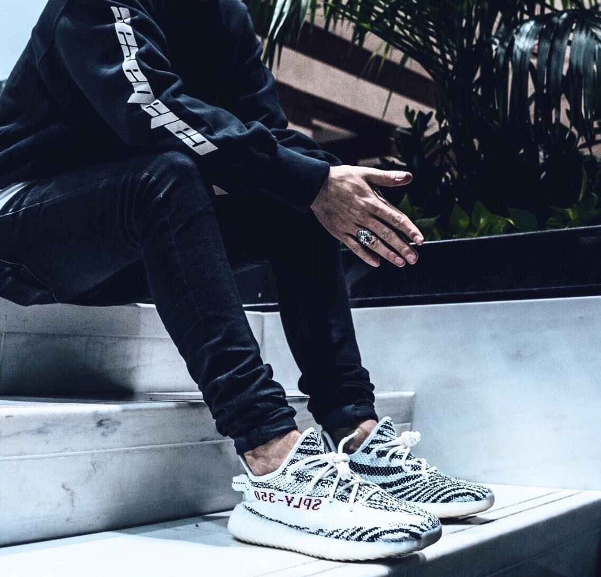 aaf2752fd Adidas Calabasas   Yeezy Boost 350 V2 Zebra Follow  IllumiLondon for more  Streetwear Collections  IllumiLondon