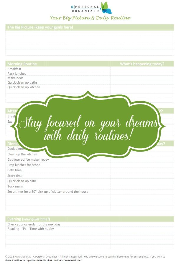 Stay focused on your goals while keeping track of daily life! Free