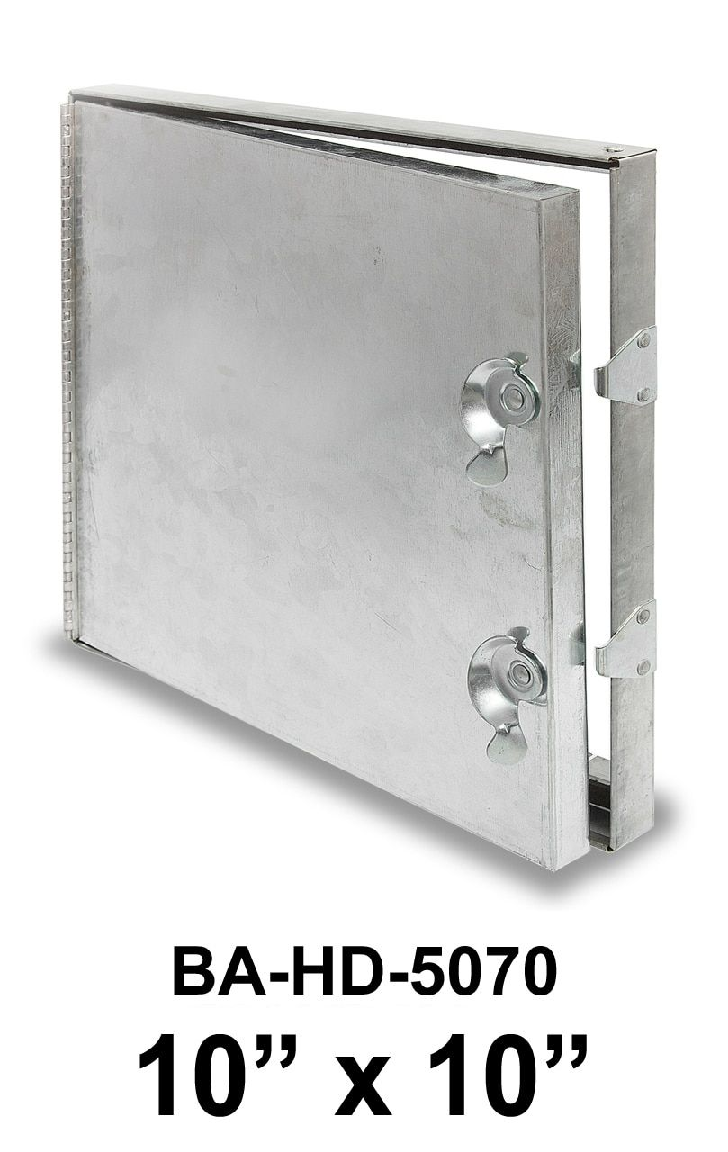 10 X 10 Hinged Duct Access Door Access Panel Access Panels Sheet Metal Wall