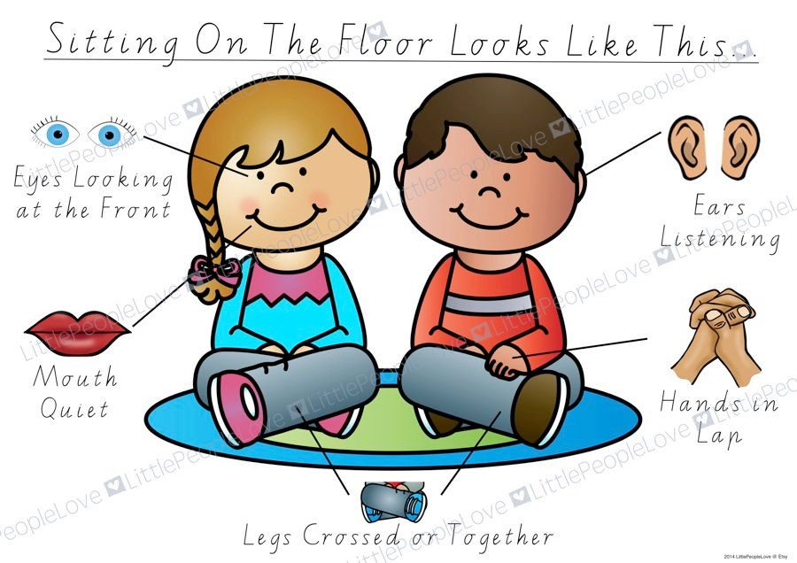 28 Collection Of Child Sitting On Floor Clipart Kid Sitting Cross Legged Clipart Great Free Clipart Classroom Posters Picture Cues Classroom Expectations
