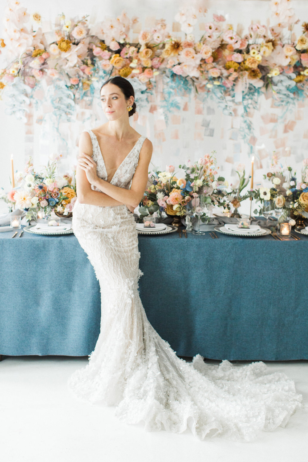 FROSTED PASTELS FEATURED ON THE KNOT MAGAZINE! bashful