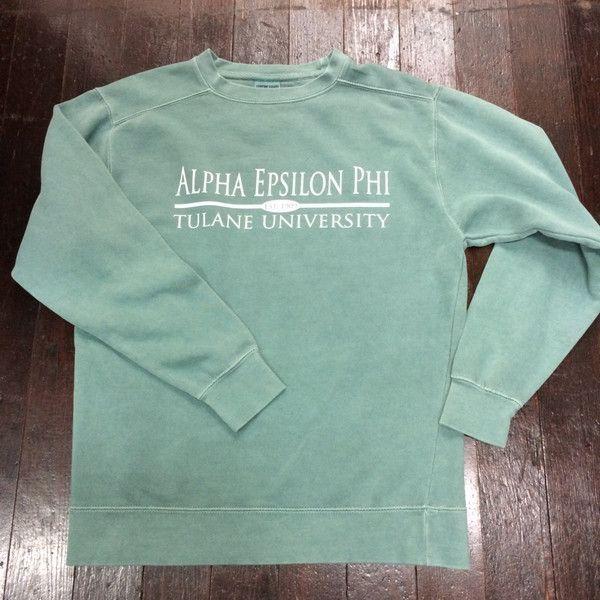 Sorority Comfort Colors Crewneck Sweatshirt Preppy Bar Design Sorority Shirt Designs Sorority Outfits Sweatshirts