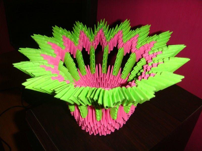 Trusha album flower vase 3d origami art 3d origami pinterest trusha album flower vase 3d origami art mightylinksfo