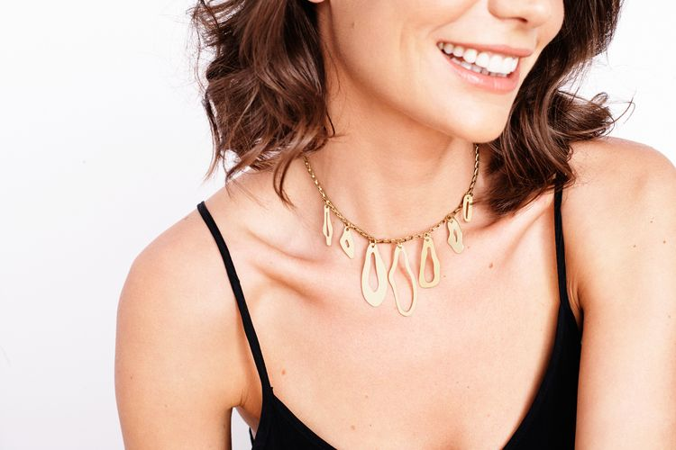 Abstract Choker Necklace