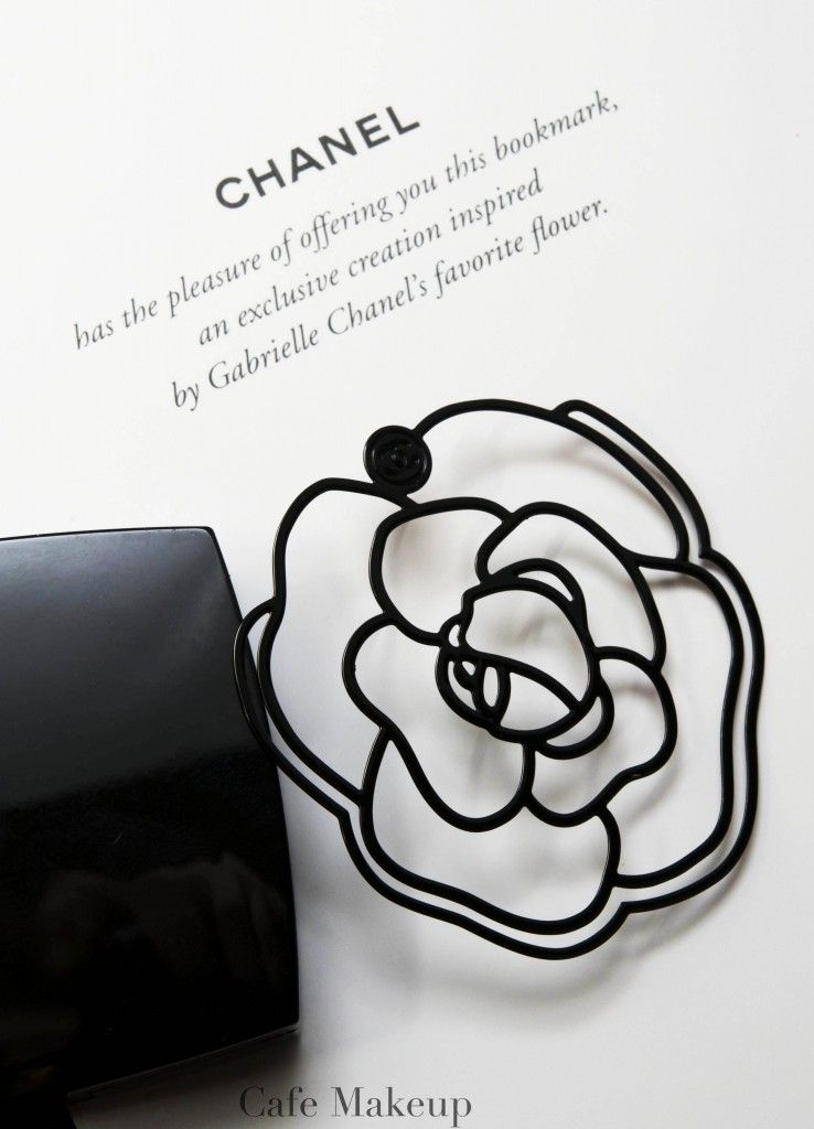 Metal Bookmark In Iconic Chanel Camellia Shape Cafemakeup Com