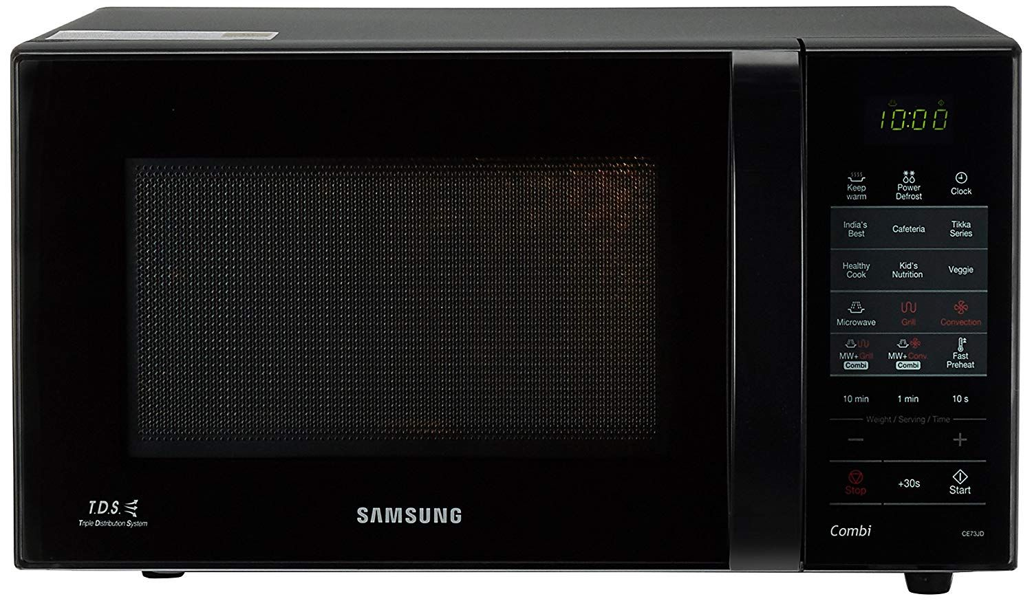 Samsung 21 L Convection Microwave Oven Ce73jd B Xtl Black Microwave Convection Oven Microwave Oven Convection Microwaves