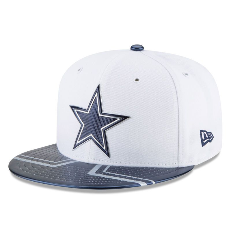 139b83230 Dallas Cowboys New Era 2017 NFL Draft Official On Stage 59FIFTY Fitted Hat  - White