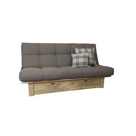 Belvedere Futon Sofa Bed Storage
