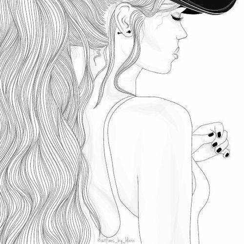 Criatividade A Mil Menina Tumblr Love Menina Tumblr Desenho