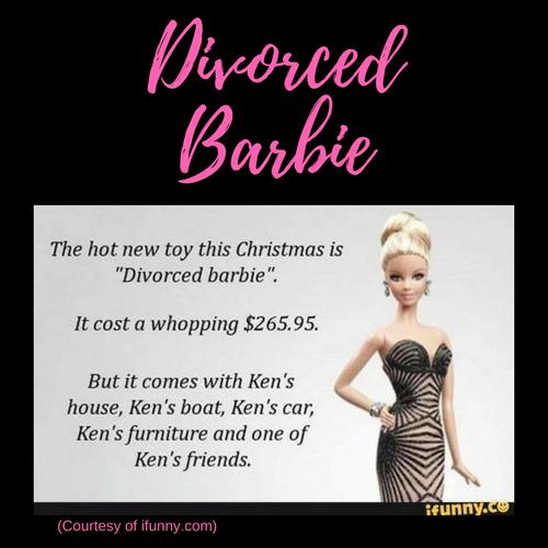 Divorce Humor Divorced Barbie Funnymemes Memes Divorce Quotes