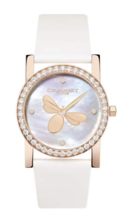 Chaumet Attrape-moi... si tu m'aimes watch with pink gold and diamonds