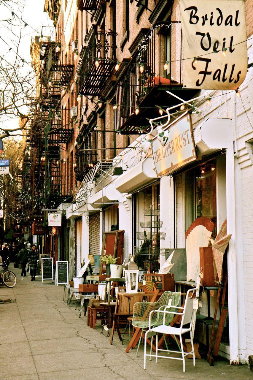 New York City Photograph East Village Photo Autumn