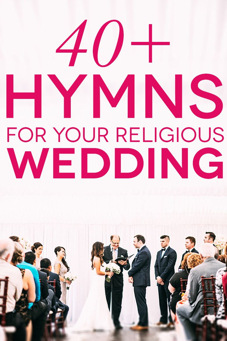 41 Classic and Modern Hymns for Your Church Wedding #weddinghymns  #weddingsongs #weddingmusic #religiouswedding