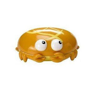 Something's Fishy Funny Shy Crab Kids Soap Dish Bathroom