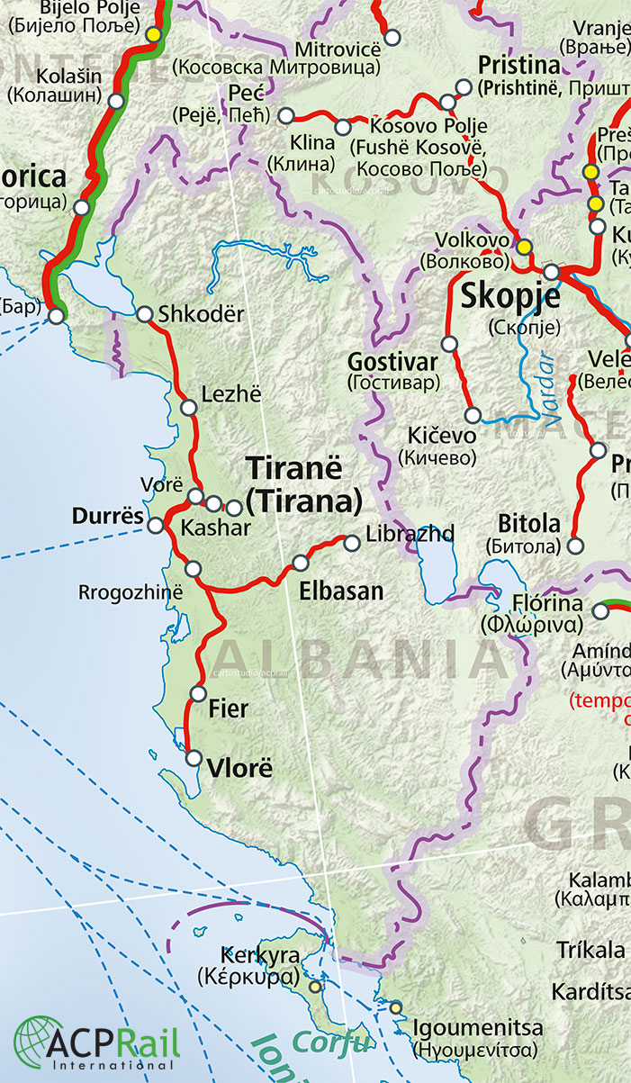 Albania Train Map - Get train tickets & rail pes for travel in ... on milan train station map, via rail canada station map, cadorna train station map, italy train station map, tiburtina train station map, roma tiburtina station map, florence train station map, tgv station map, bologna train station map, vienna train station map, italy rail station map, milano centrale train station map, milano rogoredo railway station map, naples train station map, chiusi train station map, amtrak station map,