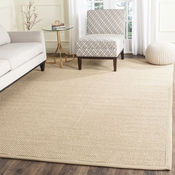 Safavieh Handmade Natural Fiber Maize Linen Jute Rug X Square