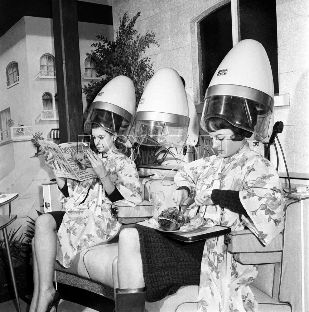 Mr Johns Hairdresser 1965 Vintage Beauty Parlor
