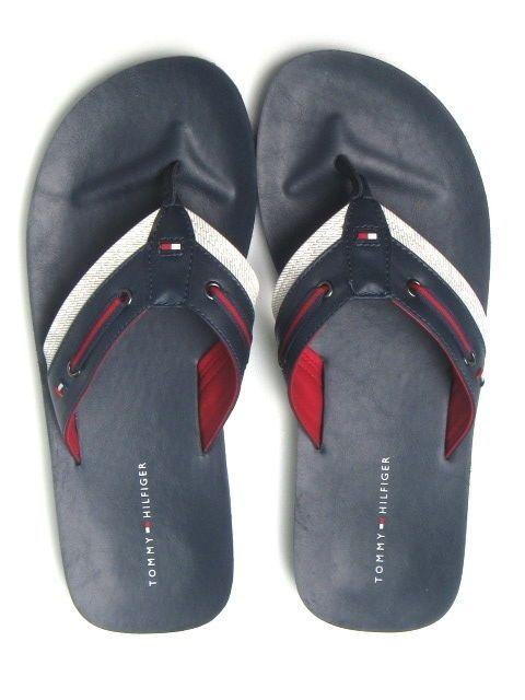 b2adea06ac7990 Tommy Hilfiger Mens Flip-Flops Sandals