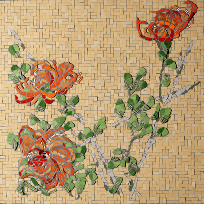 Pin by Gaby James on Mosaic Wall Art | Pinterest | Mosaic flowers ...