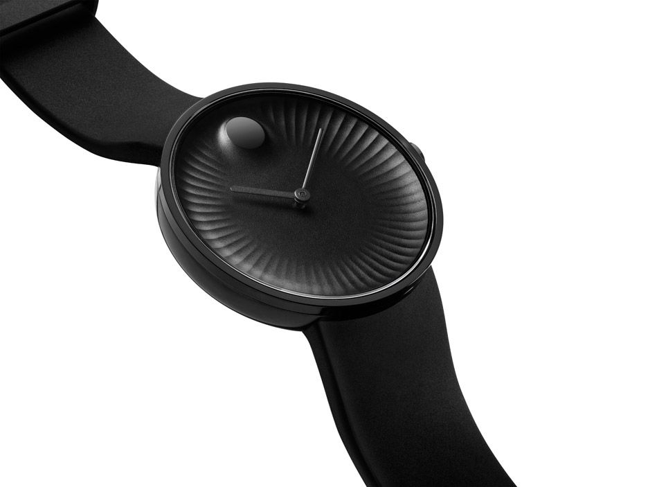 Yves Béhar's Edge is an update on a classic Movado watch.