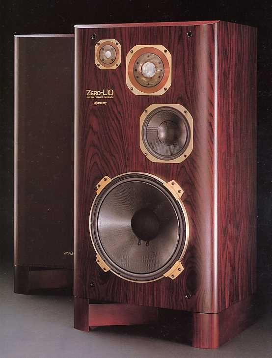 Vintage high end audio audiophile Victor ZEROL10 4WAY