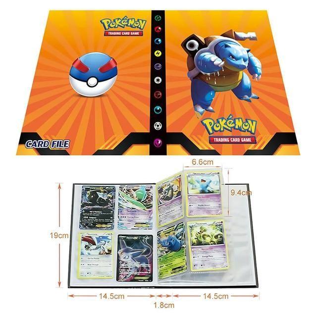 Photo of Pokemon Cards Album Book Cartoon – Anime 80/240PCS Game Cards – 9