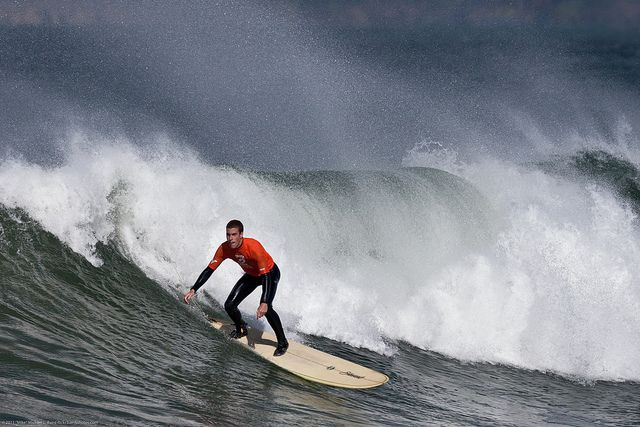 #Surfing at the Big, Bad,