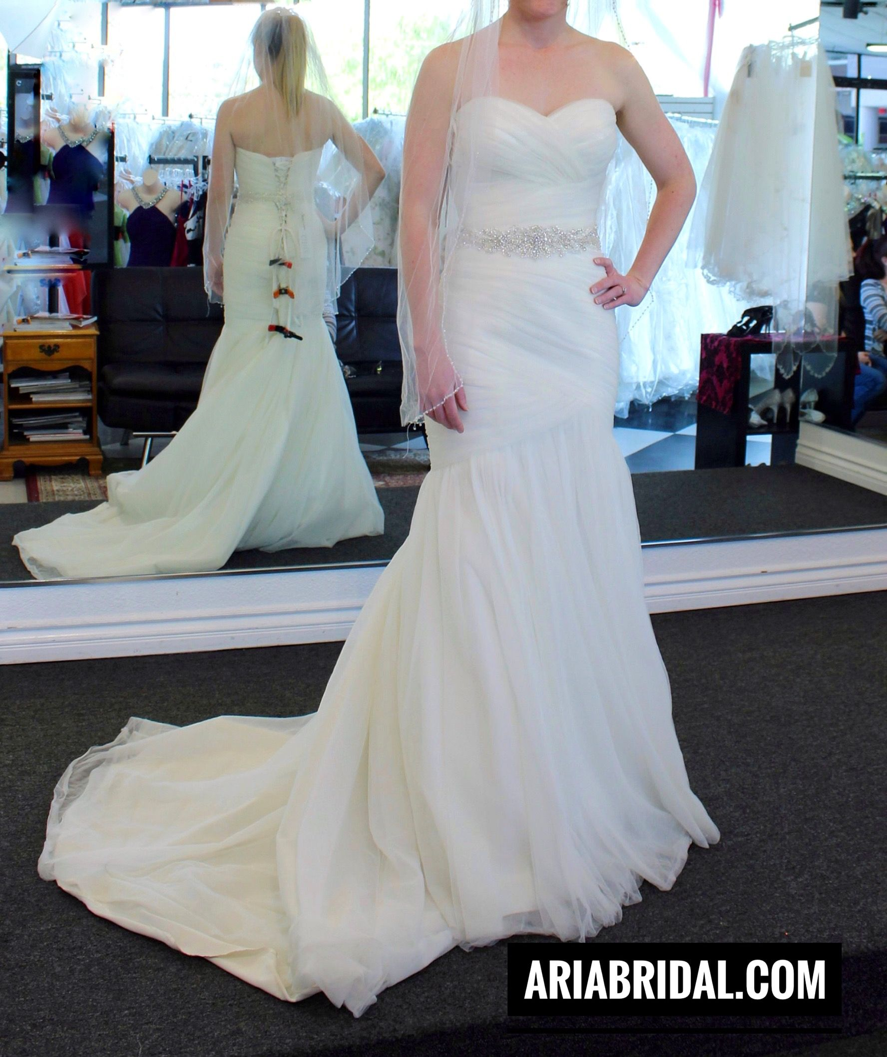 Wedding Dress at Aria Bridal in Escondido, California. Beautiful ...