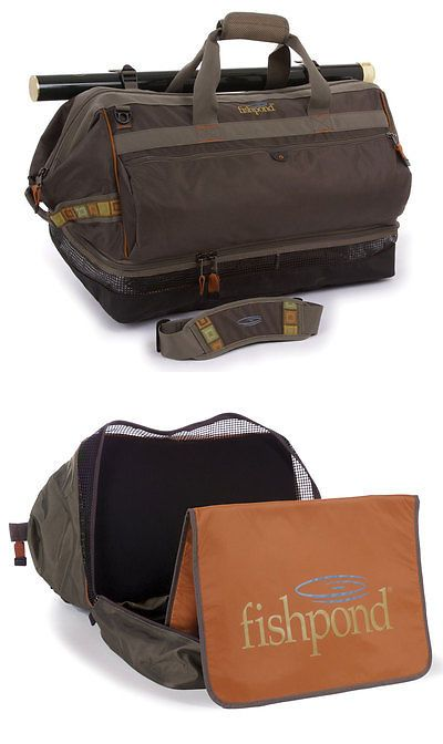 Fly Fishing Accessories 87098: New Fishpond Cimarron Wader Duffel Fishing Bag Stone Color Free Us Shipping BUY IT NOW ONLY: $169.95
