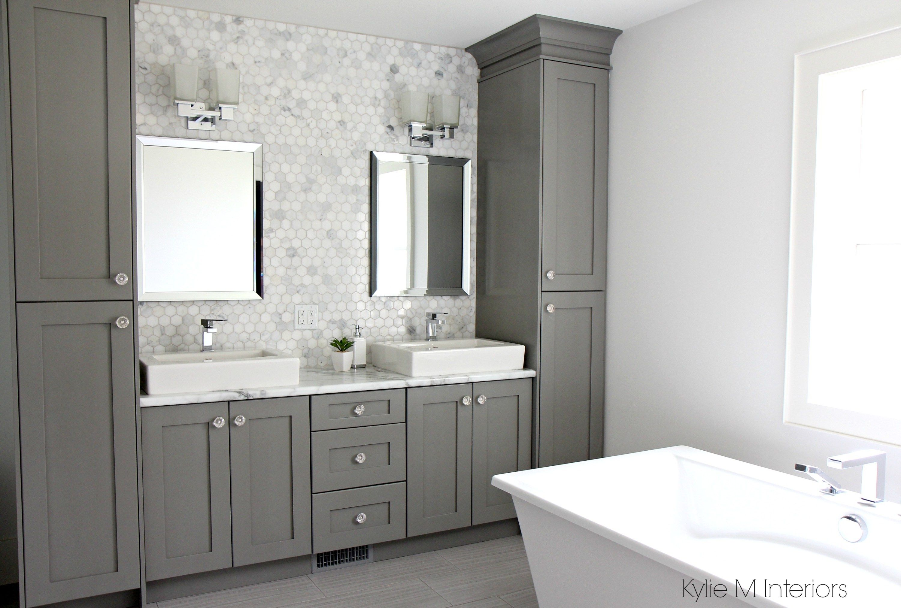 A Marble Inspired Ensuite Bathroom Budget Friendly Too Bathroom Vanity Designs Bathroom Vanity Storage Bathroom Storage Tower
