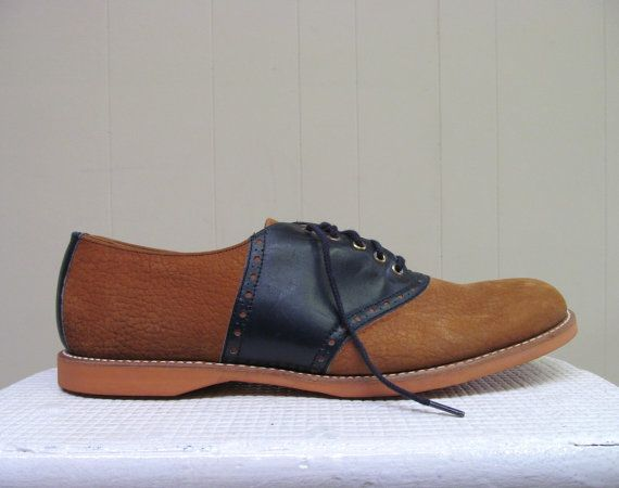 Vintage 1960s Shoes / 60s Two-toned Suede by RanchQueenVintage