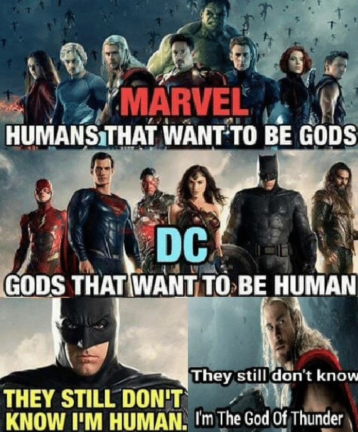 Savage Avengers Vs Justice League Memes Screenrant Marvel Avengers Funny Marvel Quotes Marvel Funny