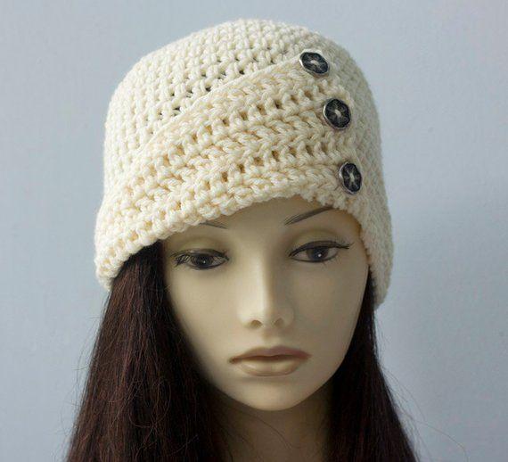 b258fe8139b Button Flapper Hat