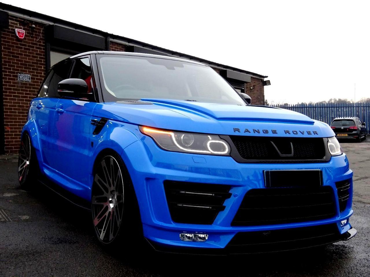 Land Rover Range Rover Sport 3.0 HSE SDV6 BI-TURBO VZR-600 EDITION WIDE  BODY LATEST VOODOO BLUE WITH EXTRAS Four Wheel Drive Diesel Voodoo Blue 3881b6b905