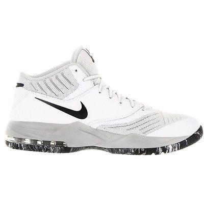 Nike Air Max Emergent Mens 818954-100 White Black Basketball Shoes Size 10.5