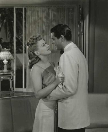 Betty Grable and Robert Cummings - Moon Over Miami