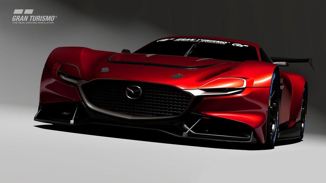 Mazda Rx Vision Gt3 Concept Virtuelle Wankel Rakete In 2020 Auto Motor Sport Rennsport Mazda