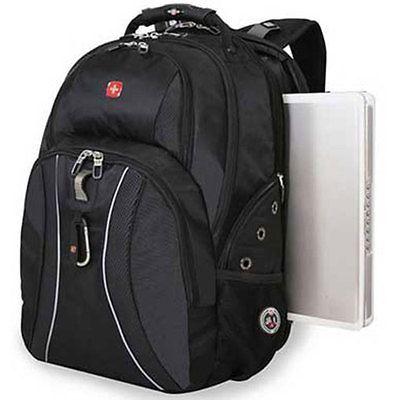 New SWISS GEAR Backpack Laptop Notebook Black Wenger 17 inch Computer Swissgear