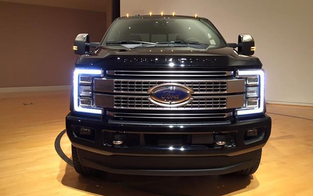 The 2017 Ford Super Duty Is Designed For Towing And Hauling Mive Loads Like Never Before