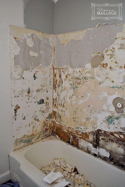 Tiling Our Shower Tile Tub Surround Bathtub Surround Tile Bathroom