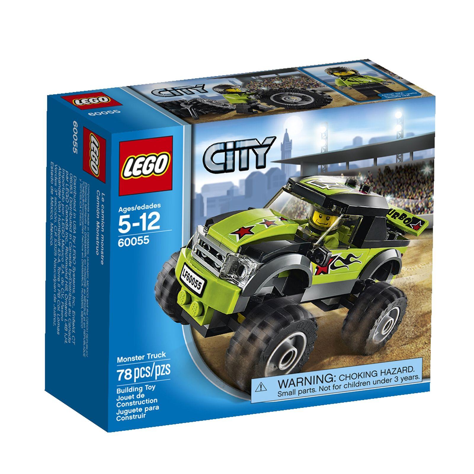 Lego City Great Vehicles Monster Truck 673419204750 Monster Trucks Lego City Monster Truck Toys