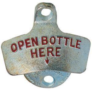 Star X Cast Iron Bottle Opener (13-300) – ShopAtDean