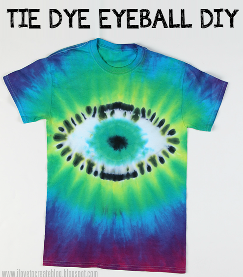 tie dye eyeball shirt diy craft ideas batik n hen farben. Black Bedroom Furniture Sets. Home Design Ideas