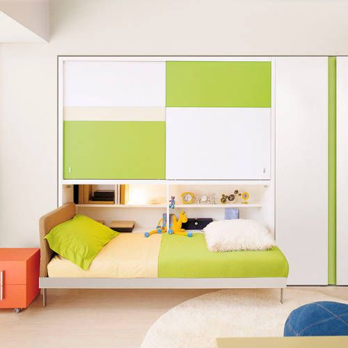 Kali Ponte Twin Wall Bed   Kids Bedroom Decor   Pinterest   Wall ...