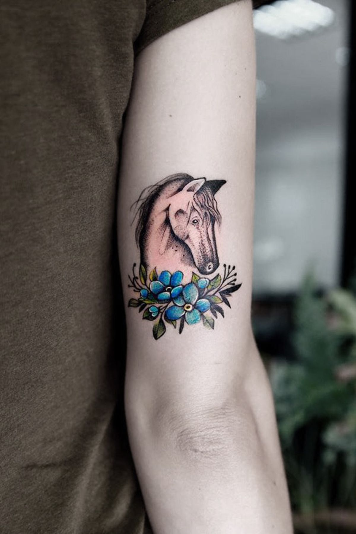 horse head tattoo sleeve | horse tattoo, tattoos for guys, upper arm tattoos  designs  pinterest