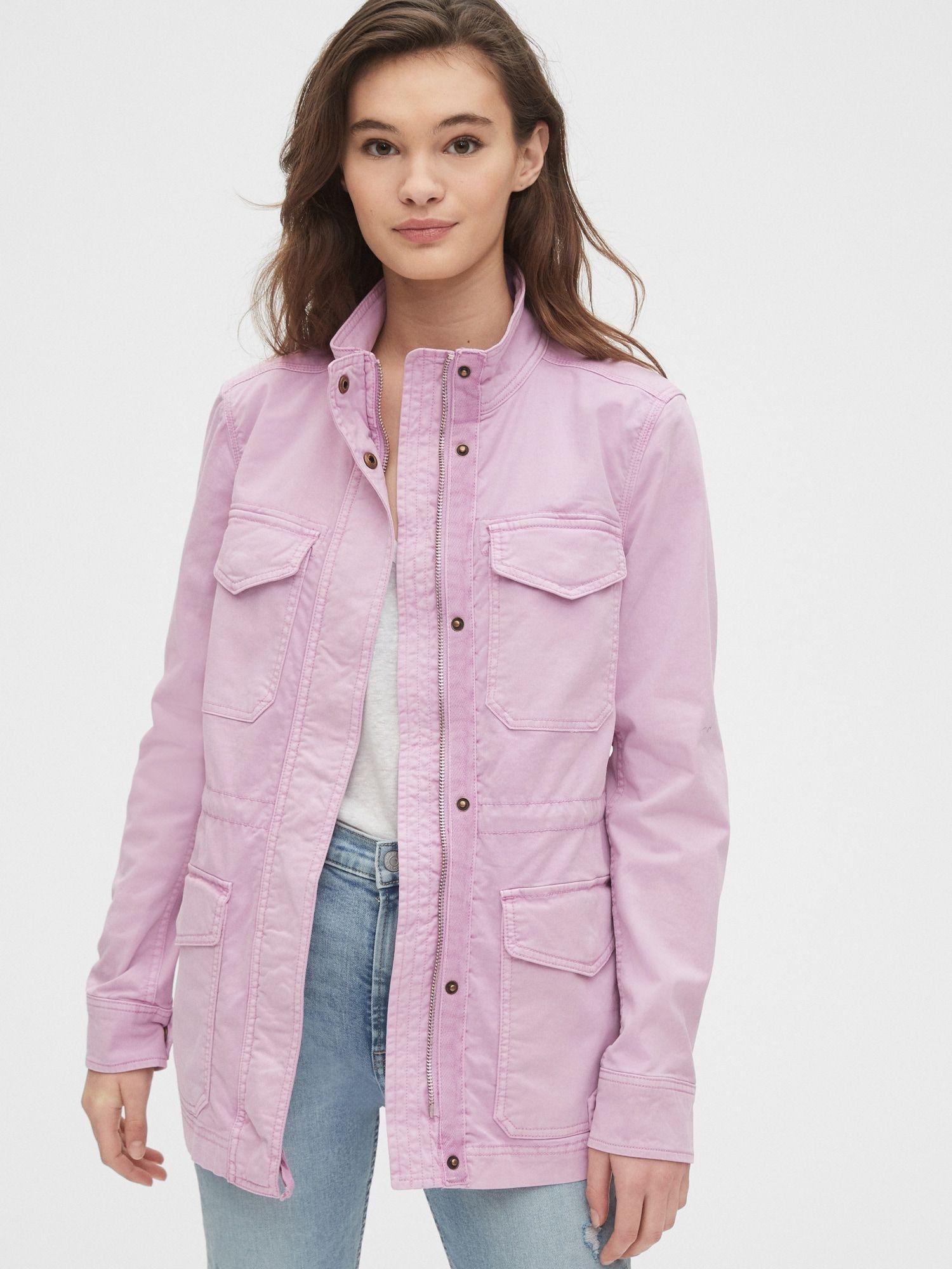 Utility Jacket Gap Fashion Spring Jackets Coats Jackets Women [ 2000 x 1500 Pixel ]